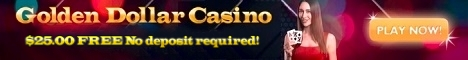 Golden Dollar Casino is a New crypto-based online casino and sportsbook! 100% Welcome Bonus up to $10.000! and 20 free spins!
